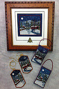Harrisburg Winter - Cross Stitch Pattern