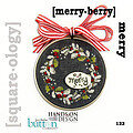 Squareology Merry - Merry Berry - Cross Stitch Pattern