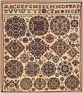 Museum Celle Sampler 1826 - Cross Stitch Pattern