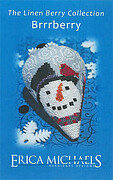 Brrrberry - LINEN Berry Collection - Cross Stitch Pattern