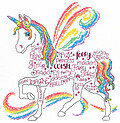 Rainbow Unicorn - Cross Stitch Pattern