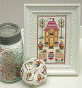 Easter House - Cross Stitch Pattern