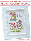 French Country Bicycle - Cross Stitch Pattern