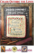 Color Outside the Lines - Cross Stitch Pattern