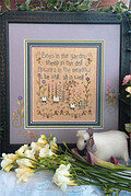 All is Well - Cross Stitch Pattern