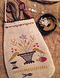 Simple Pleasures Sewing Pouch - Cross Stitch Pattern