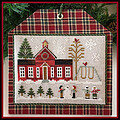 Schoolhouse - Hometown Holidays - Cross Stitch Pattern