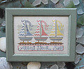 Adjust Your Sails - To the Beach  #4 - Cross Stitch Pattern