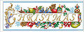 Christmas Greetings - Cross Stitch Pattern