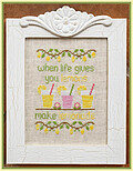 Make Lemonade - Cross Stitch Pattern