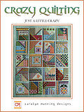 Crazy Quilting - Just a Little Crazy - Cross Stitch Pattern