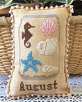 What's in Your Jar - August - Cross Stitch Pattern