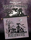 Graveyard Halloween - Cross Stitch Pattern
