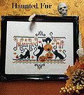 Haunted Fur - Cross Stitch Pattern