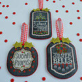 Chalkboard Ornaments - Christmas Collection Part 3
