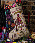Roma's Stocking - Cross Stitch Pattern