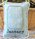 What's in Your Jar? - January - Cross Stitch Pattern