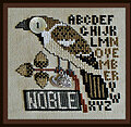 Nobel November (w/charm) - Cross Stitch Pattern