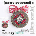 Holiday - Merry Go Round - Cross Stitch Pattern