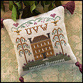 ABC Samplers No 8 - UVW - Cross Stitch Pattern