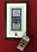 Elf Made and Tested - Cross Stitch Pattern