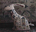 Samplar Hare - Cross Stitch Pattern