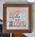 Rise & Grind - Cross Stitch Pattern
