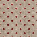32 Count Petit Point Red/Natural Belfast Linen Fabric 18x27