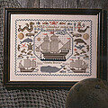 New World Sampler - Cross Stitch Pattern