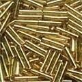 Mill Hill 82011 Victorian Gold Bugle Beads - 9mm Long