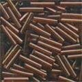 Mill Hill 82023 Root Beer Bugle Beads - 9mm Long