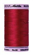 50wt Mettler 547yd Cotton Thread - 0504 Country Red