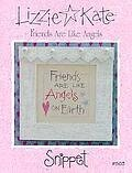 Friends Are Like Angels - Cross Stitch Pattern