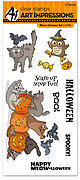 Meow-lloween Clear Stamp Set