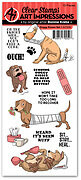 Doggy Kisses Clear Stamp Set
