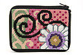 Coin Purse - Daisy Swirl - Needlepoint Kit