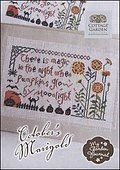 October's Marigold - Cross Stitch Pattern