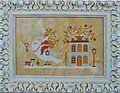 Santa, the Dove, and the Key - Cross Stitch Pattern
