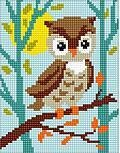 Owlet - Stamped Needlepoint Kit