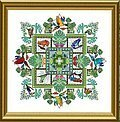 Rainforest Mandala, The - Cross Stitch Pattern