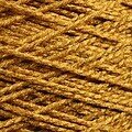 Needloft Craft Yarn 20 Yard Card - Gold