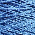 Needloft Craft Yarn 20 Yard Card - Royal Blue