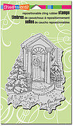 Our Doorstep - Christmas Cling Rubber Stamp