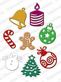 Impression Obsession Christmas Icons Die