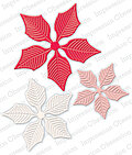 Impression Obsession Large Poinsettia Die Set