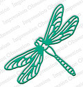 Impression Obsession Large Dragonfly Die