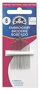 DMC Embroidery Hand Needles Sizes 1-5, 12 per package