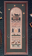 North Country Sampler - Cross Stitch Pattern
