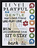Good Dog - Cross Stitch Kit