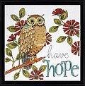 Hope Owl - Counted Cross Stitch Kit